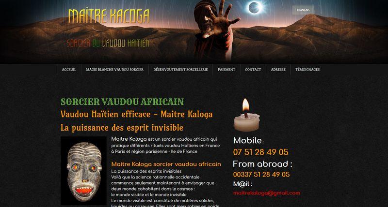 Les pouvoirs de désenvoutement du grand sorcier vaudou Kaloga